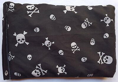 New Skulls and Skull & Crossbones Microwave Cold Compress Wheat Heat Pack Bag