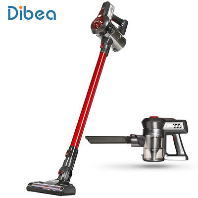 Dibea C17 2-In-1 Wireless Upright Vacuum Cleaner Two Speed Control +2 Brush New