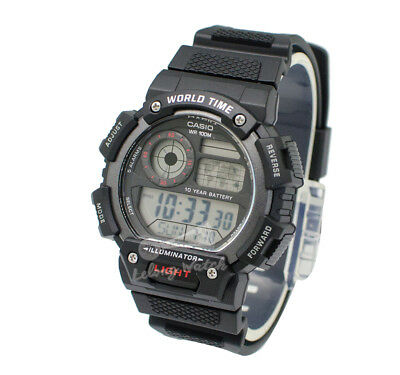 -Casio AE1400WH-1A Digital Watch Brand New & 100% Authentic