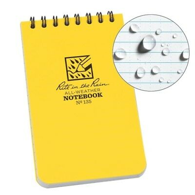 """Rite in the Rain Top Spiral All Weather Universal Notebook 3""""x 5"""" (1-Pack)"""