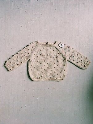 NWT Misha and Puff Popcorn Sweater in Confetti 12-18m