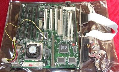 PCChips M520 Pentium 120MHz motherboard with 32Mb Ram