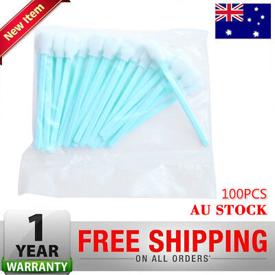 100X Solvent Cleaning Swabs For Roland Mimaki Mutoh Printer Epson Format InkJet