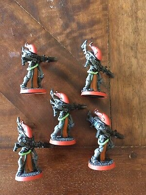 Warhammer 40k Aeldari Army OOP Metal Eldar Wraithguard 5 Games Workshop Models !