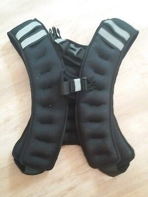 weighted training exercise vest 10 kg