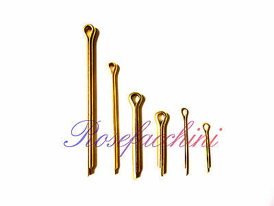 Multilisting Various Sizes Metal Brass Split Pins Cotter Wire Findings