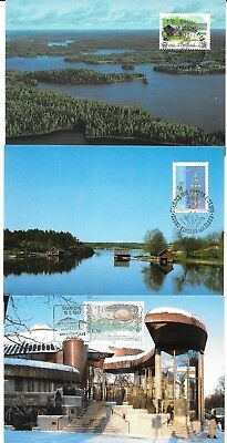 FINLAND Postcards etc. (x37), all different & mostly oldish, some with stamps