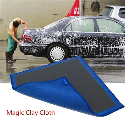 Car Truck Polishing Cloth Towel Clay Bar Microfibre Mitt Detailing Washing