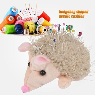 19pcs/set Hedgehog Shape Fabric Pin Cushion w/ Quilting Pins Sewing Quilting DIY