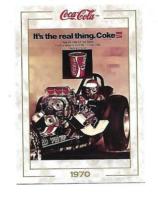 Coca Cola Collection (1993) 1970 # 76 It's the Real Thing Race Car