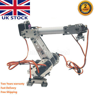 Official DOIT DoArm S6 6DoF Robot Arm Manipulator with MG996R+MG90S UK