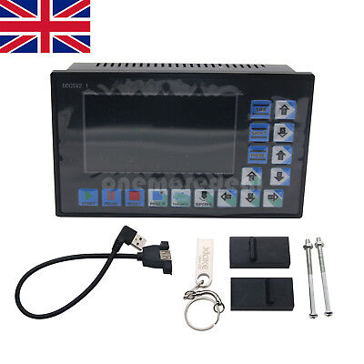DDCSV2.1 500KHz CNC 4-Axis Engraving Machine Controller Motion Control System UK