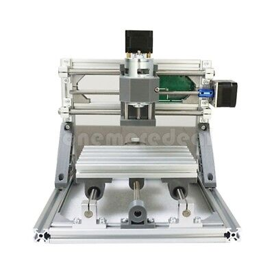 Mini CNC 1610 + 500mw laser CNC engraving machine Pcb Milling wood router sz/