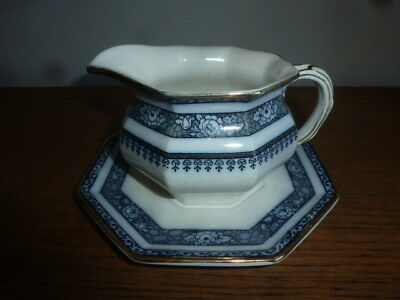 Losol Ware Keeling & Co - Ormonde - Gravy Or Sauce Jug On Stand
