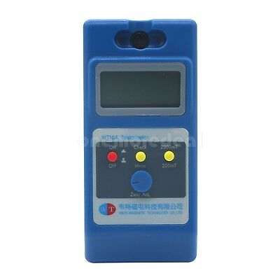 WT10A LCD Tesla Meter Gaussmeter Surface Magnetic Field Tester W/ Ns Function sz