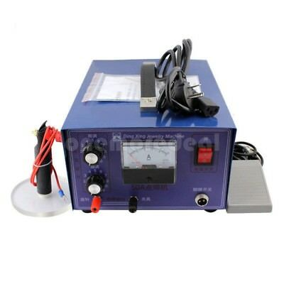 400W 50A Jewelry Laser Welding Machine Mini Spot Welder Gold Silver 110/220v