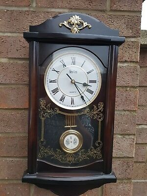 Acctim vintage Quartz Wall Clock with Westminster Chimes
