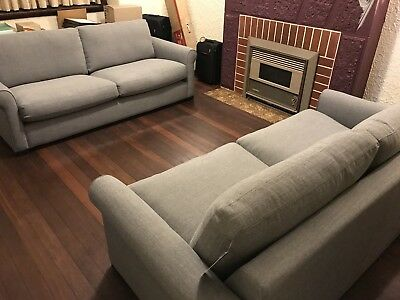 Freedom Furniture Sofa - 2 x Signature Classic Sofa 2.5 Seater
