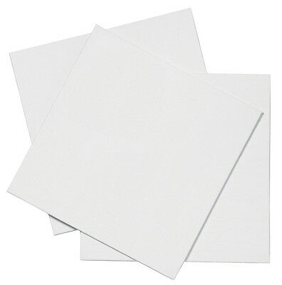Pebeo White Canvas Panel Board for Acrylic & Oil Painting Square 30cm PACK OF 3