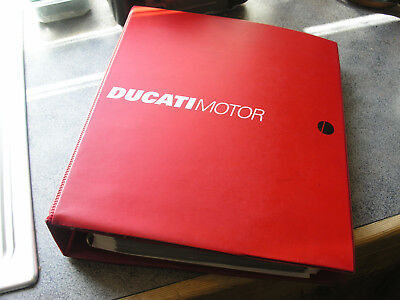 Ducati Factory Issued Technical Workshop Manual  Superbike 999 2003  M.y.