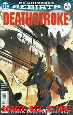 Deathstroke #4 (2016) 1St Printing Bagged & Boarded Dc Comics