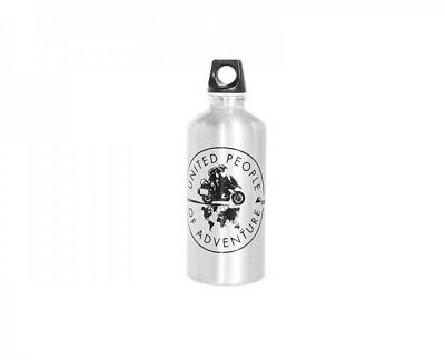 """Touratech Trinkflasche Alu """"UPoA"""" United People of Adventure 0,6 Liter"""