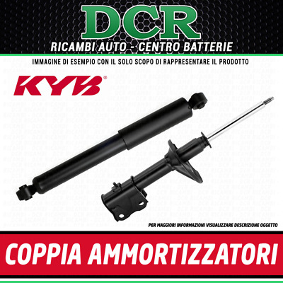 MERCEDES ML270 W163 2.7D 2x Ressorts arrière 99 To 05 OM612.963 KYB Paire set