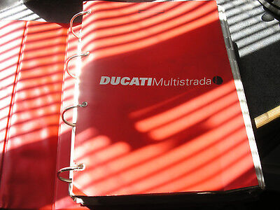 Ducati Factory Issued Technical Workshop Manual  Multistrada 1000Ds / S' 2004/05