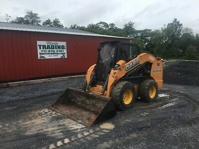 2011 Case SV300 Skid Steer Loader w/ Cab, Joysticks, High Flow!