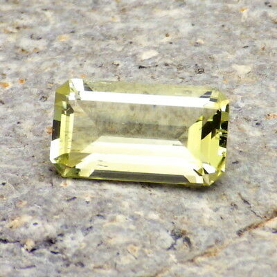 HELIODOR-BRAZIL 2.29Ct CLARITY VS2-NATURAL UNTREATED COLOR-PERFECT FACETING!