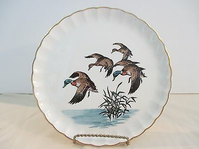 DECORATER PLATE (Malards landing on water) by W.S.GEORGE
