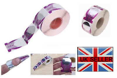 Purple Nail Guide Sticker Tape Nail Art Sculpting Extension Nails Forms Guide