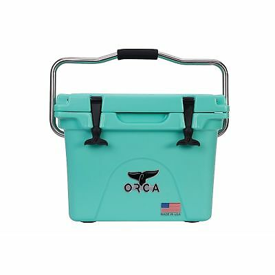 ORCA Cooler with 20-Quart Capacity & Leak-Proof Lid in Seafoam #ORCSFSF020