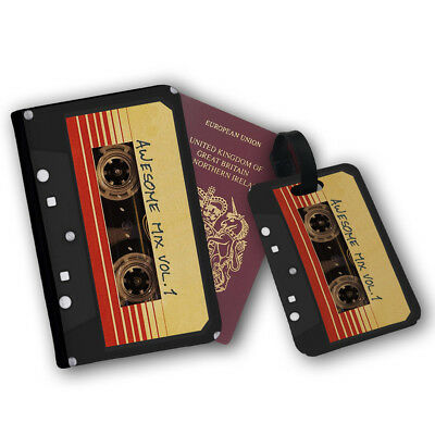 Guardians Of The Galaxy Awesome Mix 1 Retro Travel Protection Flip Cover Case