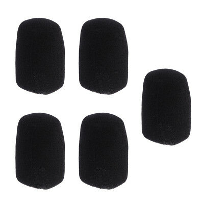5 PCS 5.3cm Microphone Windscreen Pop Filter Sponge Foam Wind Shield
