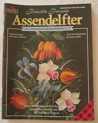Decorative Painting Pattern Book ASSENDELFTER Dutch Painting by Jacques Zuidema