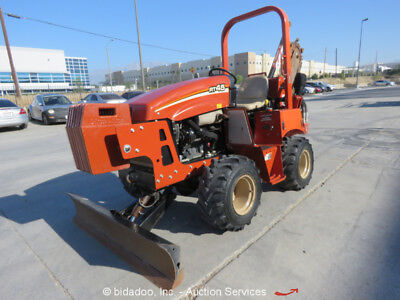 2014 Ditch Witch RT45 4WD Ride-On Trencher Backfill Blade Side Shift bidadoo