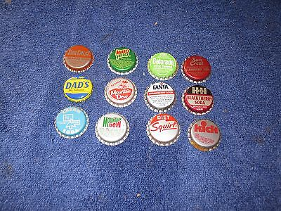 Pop  Bottle Cap    11  Cork  And Plastic     See Pic