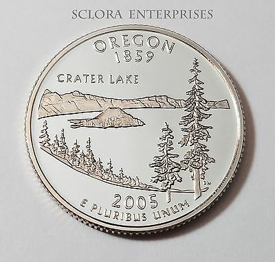 2005 S Oregon *90% Silver Proof* State Quarter   **free Shipping**