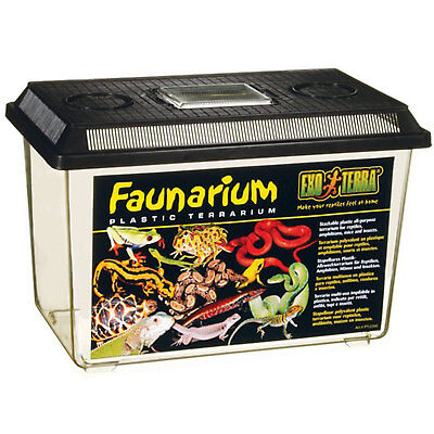"Exo Terra Faunarium All Purpose Terrarium 14 1/2"" x 8 1/2"" x 10"""