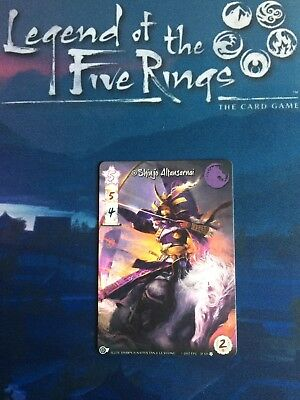 Legend of the Five Rings Unicorn Champion Altansarnai L5R Promo Official LCG