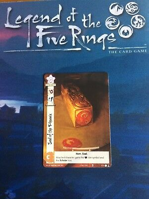 Legend of the Five Rings Seal of the Phoenix Kotei L5R Promo Official LCG