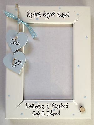 My First Day at School 4x6 Silver Photo Frame Widdop Bingham FS475