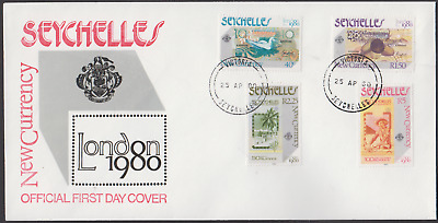 Seychelles 1980 London 1980 Stamp Exhibition First Day Cover