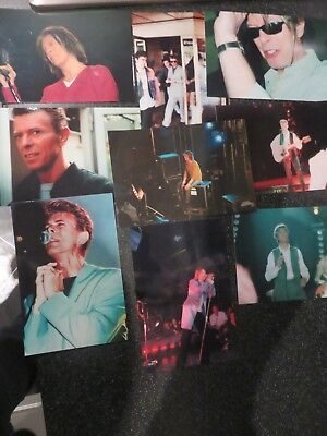 David Bowie - 9 Rare Private On/Off Stage Unpublished Photos Plus Mainman L@@K
