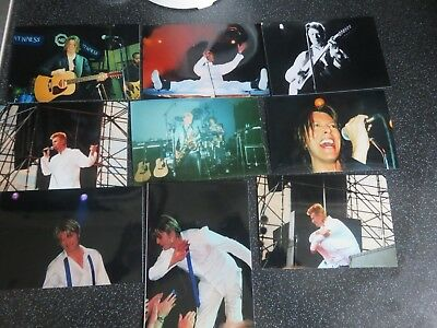 David Bowie - 9 Rare Private On Stage Unpublished Photos Plus Personal Letter