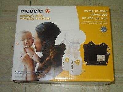 Medela Pump In Style Advanced Double Breastpump - On-the-go Tote (57063) *NEW