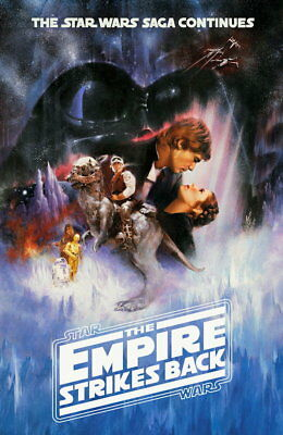 100361 Star Wars Empire Strikes Back Collector Decor WALL PRINT POSTER UK
