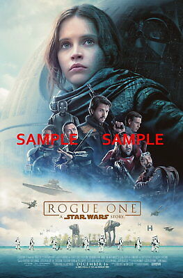 100059 Star Wars Rogue One Movie Collector Decor WALL PRINT POSTER UK