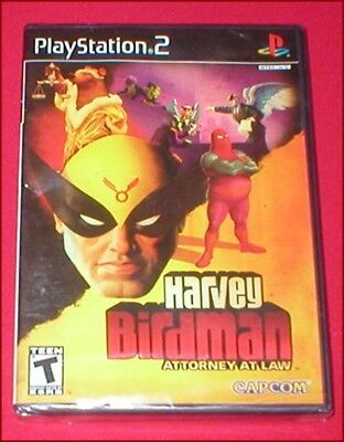 Harvey Birdman Attorney At Law for the Sony Playstation 2 PS2 System NEW SEALED
